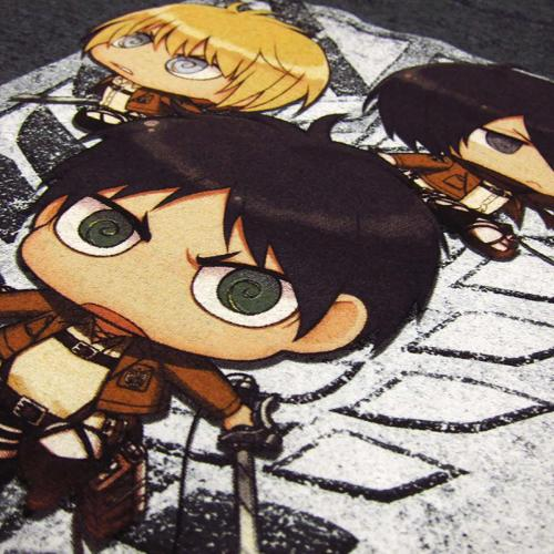 AOT Chibis Close Up 2