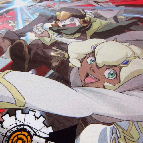 Cannon Busters close up